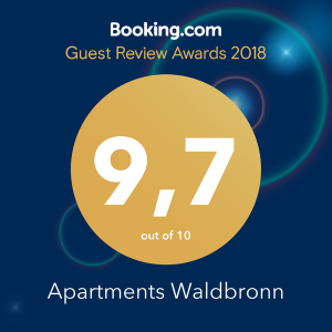 Booking.com Award Winner Apartments Waldbronn
