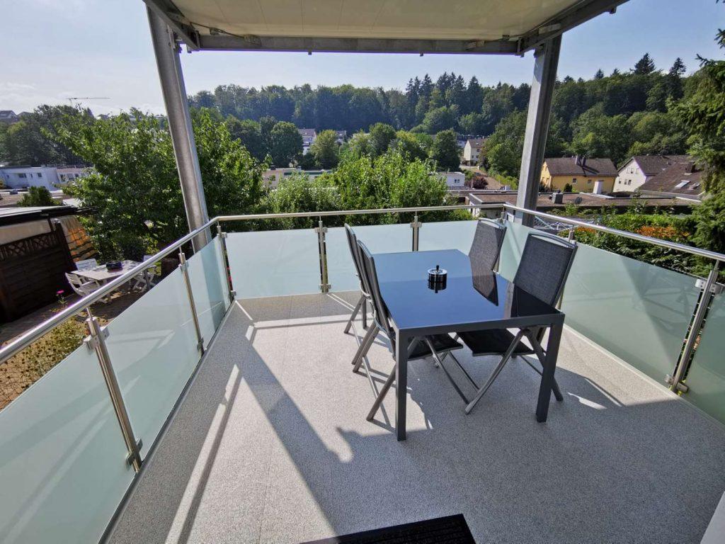 Apartments Waldbronn | EG - Balkon
